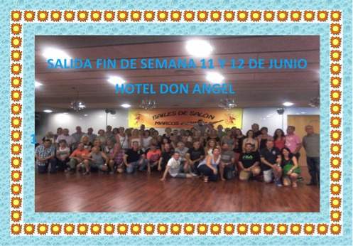 Salida Fin de Semana Junio 2016