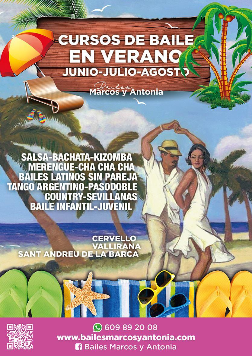 Cursos de Baile en Verano - Junio, Julio y Agosto
