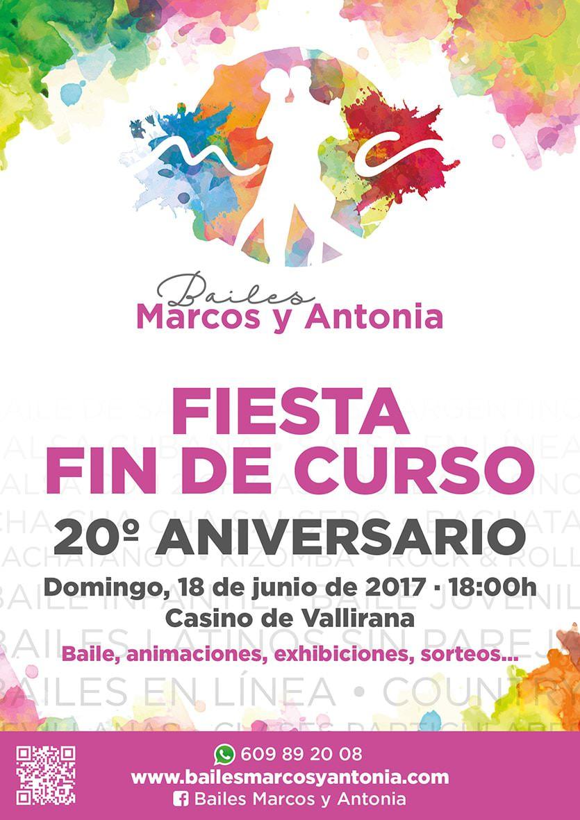 Fiesta Fin de Curso 20º Aniversario
