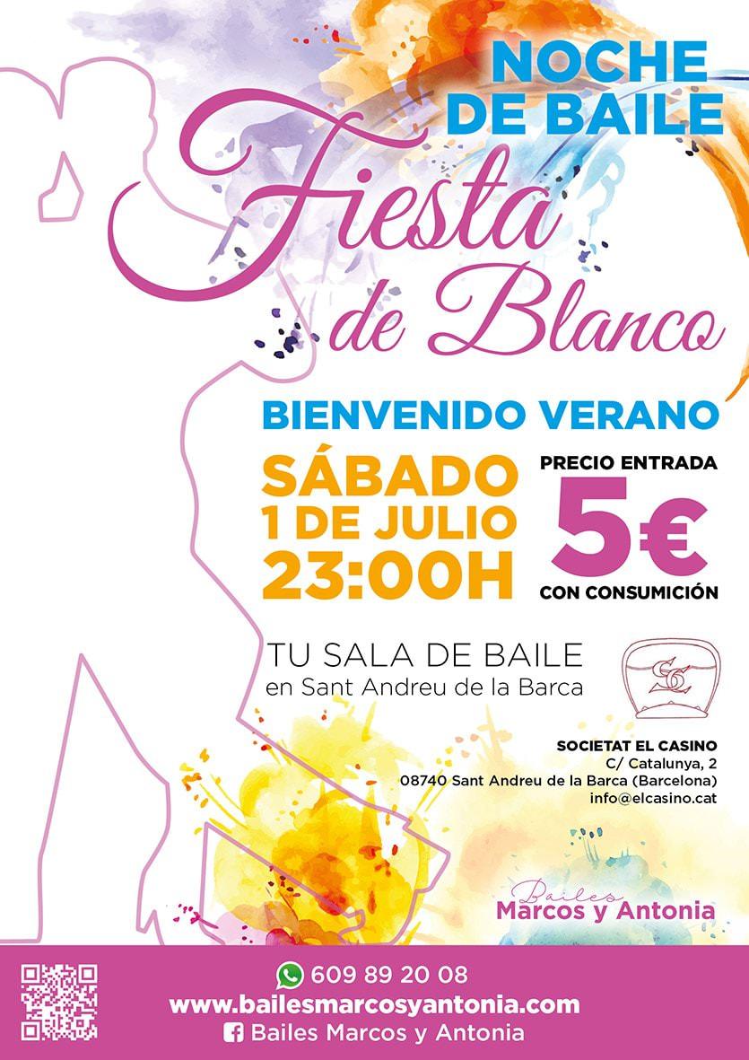 Noche de Baile - Fiesta de Blanco - Bienvenido Verano